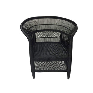 Africana Malawi Accent Chair - Black--VAVOOM