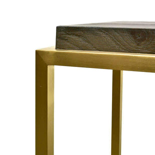 Black And Gold Console Table--VAVOOM