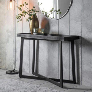 Accent Tables Solid Baha Boutique Console Table 110X40X80CM