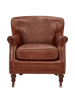 Arm Chairs, Recliners & Sleeper Chairs Mortimer Armchair in Aged Leather