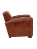Arm Chairs, Recliners & Sleeper Chairs Oxford Club Armchair In Aged Leather