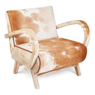 Outstanding Savannah Cowhide Armchair Squirreltailoven Fun Painted Chair Ideas Images Squirreltailovenorg