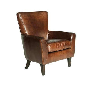 Armchairs Werner Aged Leather Armchair