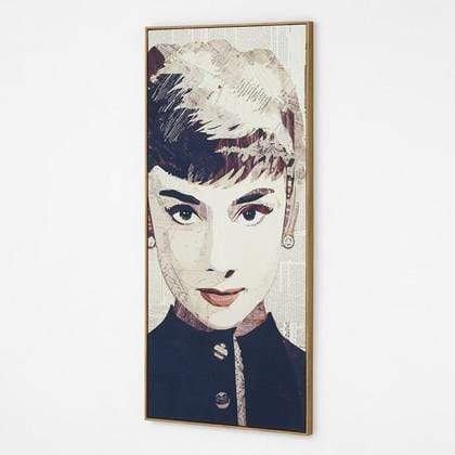 Audrey Detail Collage Wall Art--VAVOOM