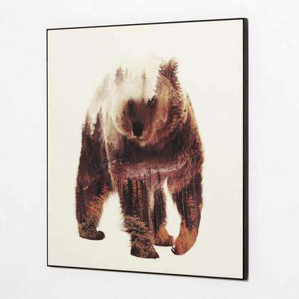 Artwork Grizzly Wall Art