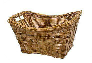 Baskets Rattan Boat Shaped Natural Log Basket