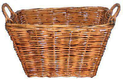 Baskets Rattan Rectangle Natural Utility Basket