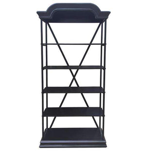 Bakers Shelving Unit-Black-VAVOOM