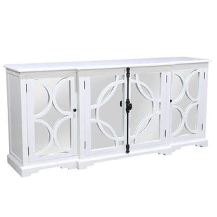 Buffets & Sideboards Keats Mirror Sideboard White