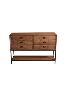 Buffets & Sideboards Officer 6 Drawer Sideboard