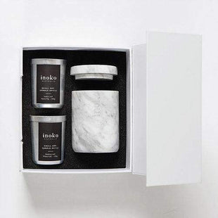 Candles & Candle Holders Almond Milk & Honey / Almond Milk & Honey Marble Small Gift Set