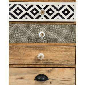 Chests of Drawers Infinity Timber / Metal Drawer Chest