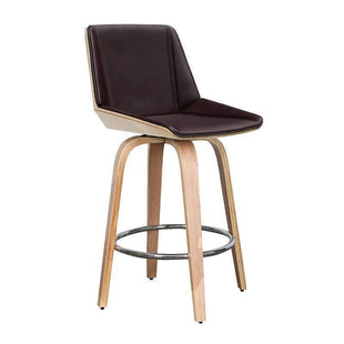 Clearance Of Clam Barstool - Brown--VAVOOM