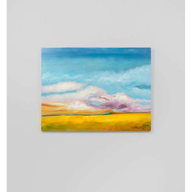 Clearance Of Open Field 2 Abstract Oil Painting--VAVOOM