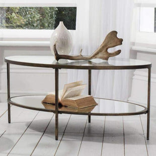 Arena Oval Coffee Table--VAVOOM