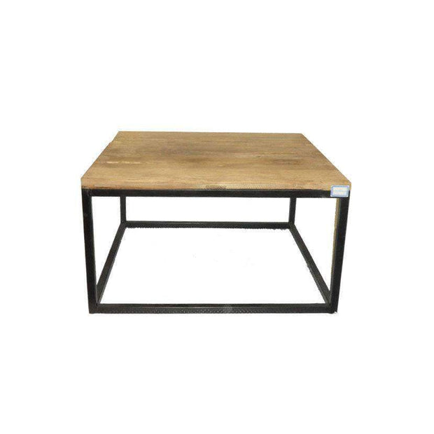 Industrial Black Leg Coffee Table-80--VAVOOM