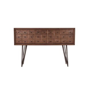 Apothecary Industrial Console Table Vavoom
