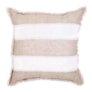 Cushions European Striped Beige Cushion