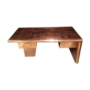 Aviator Real Copper Wrapped Desk--VAVOOM