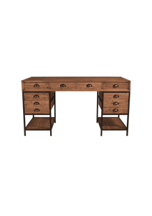 Desks Officer Twin Pedestal Desk