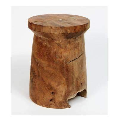 Furniture Woody Mushroom Accent Stool