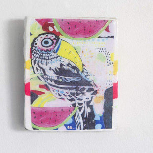 Ahoy Trader Black Toucan A4 Tile--VAVOOM