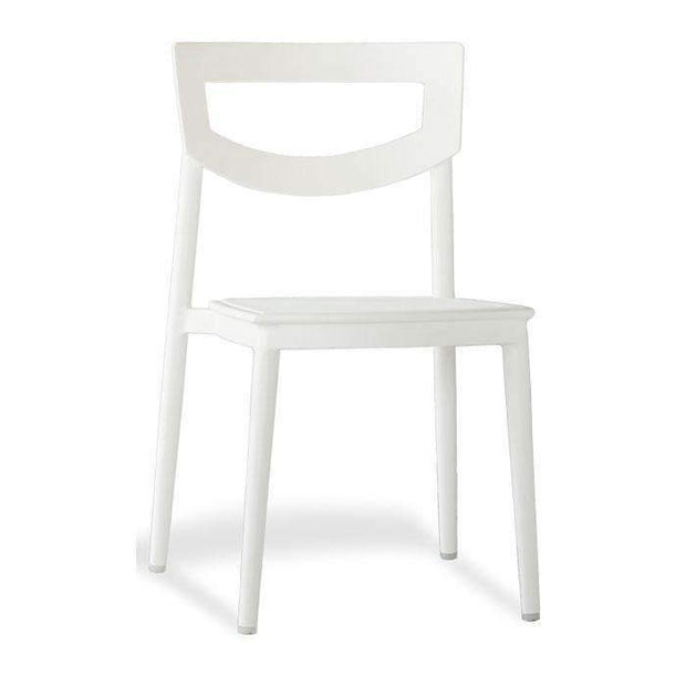Axton Dining Chair White--VAVOOM