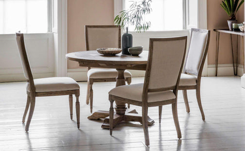 Kitchen & Dining Room Tables Chiara Round Extending Dining Table