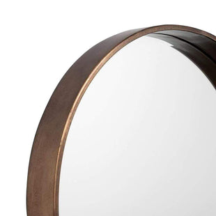 Mirrors Cooper Copper Round Mirror