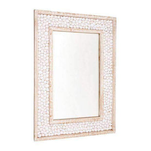 Mirrors Shell Embossed Wall Mirror