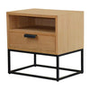 Nightstands Remy Bedside Table Black Base