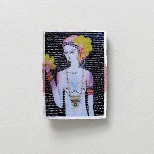 Posters, Prints, & Visual Artwork Ahoy Trader Menima Flor Mini Tile