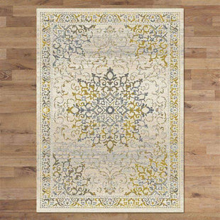 Rugs Rectangle / 80x150cm Kalahari 892 Gold Rug