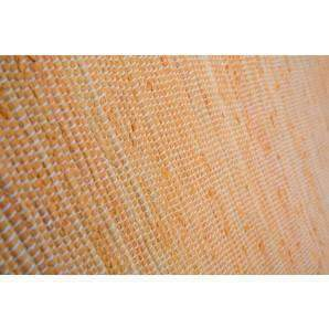 Rugs Recycled Handwoven Cotton Rug - Orange