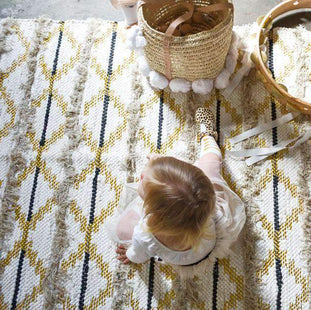 Rugs Trails Rug - Cream