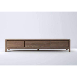 Solid Entertainment Unit 180 - Teak--VAVOOM