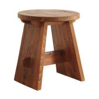 Shop By Room Woody Tokyo Accent Stool