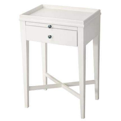 Side Tables French Farmhouse White Side Table