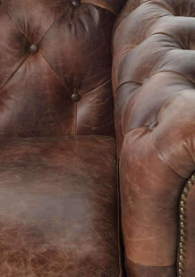 Sofas Earl 2 Seat Chesterfield Sofa