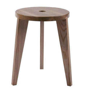 Stools and Bar Stools Dark Brown Ash Milka Accent Stool - Low