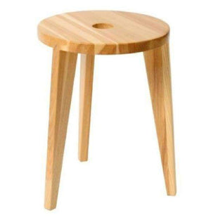 Stools and Bar Stools Natural Ash Milka Accent Stool - Low