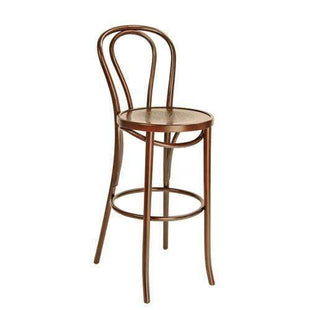 Stools and Bar Stools Walnut Original Genuine Bentwood Bar Stool With Back