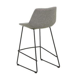Table & Bar Stools Arnold Barstool Grey Speckle/Black