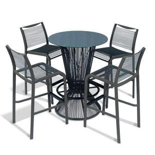 Table & Bar Stools Wesson Indoor Outdoor Stool 750MM Grey