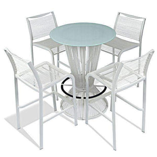 Table & Bar Stools Wesson Indoor Outdoor Stool 750MM White