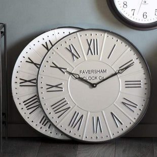 Wall Clocks Charlton Clock White