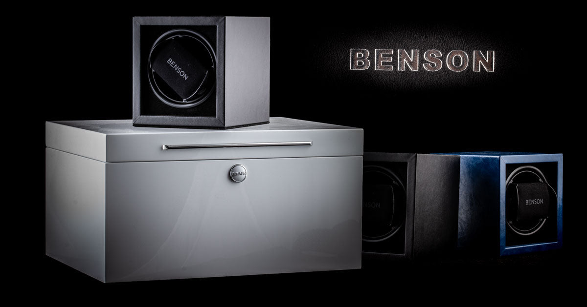 Benson - Watchwinders, watch boxes and safes...
