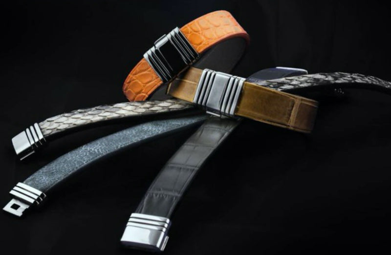 Fashion wristbands and leather straps