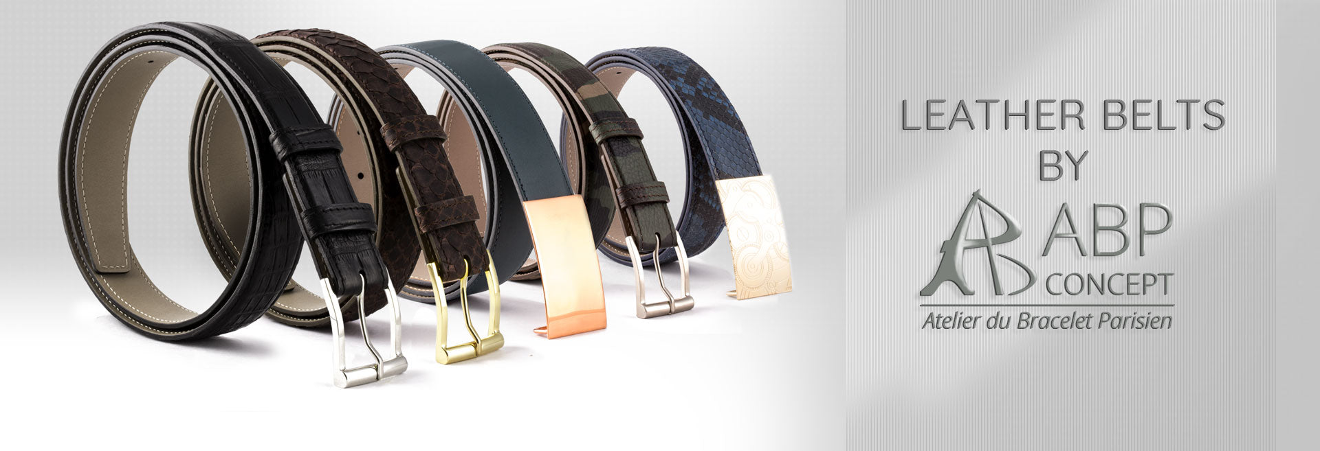 Leather belts: handmade, stock & bespoke