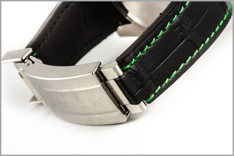 R Strap : rubber & leather straps designed for Rolex